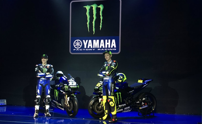 The Yamaha MotoGP factory team unveiled new livery for the 2019 Yamaha YZR-M1