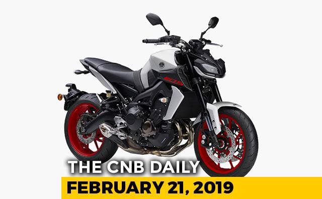 Video : 2019 Yamaha MT-09, JLR Discounts, Tata 45X
