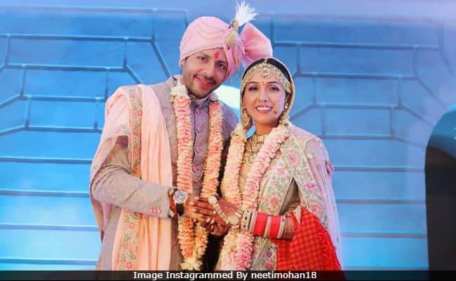 Pics From Neeti Mohan And Nihaar Pandya's Wedding Album