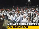 "Video : Second Time In A Year Farmers March Protesting Government's ""Betrayal"""