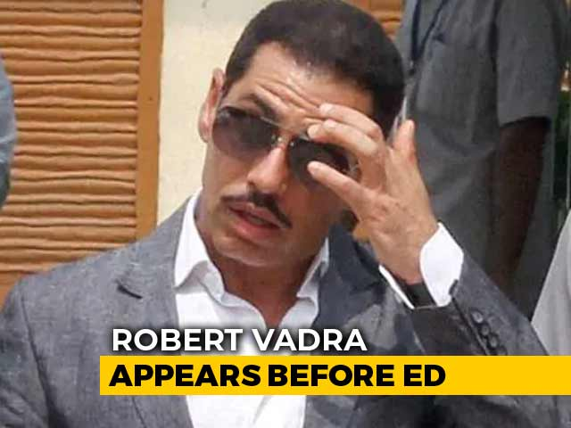 Video : Priyanka Gandhi Drops Robert Vadra To Enforcement Directorate, Big Signal