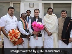 Rahul Gandhi Meets Tamil Nadu Congress Chief, Discusses Party Strategy