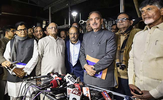 Opposition Leaders Meet Poll Body With Plea For More Paper-Trail Counting