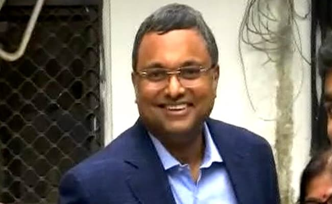 Karti Chidambaram At Probe Agency For Questioning In INX Media Case