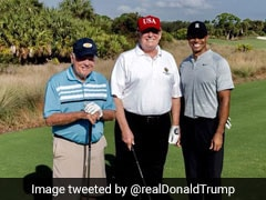 Tiger Woods Had 'Great Time' Playing With Donald Trump, Jack Nicklaus