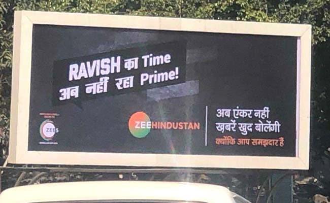 NDTV India Ravish Kumar's Response To Hoardings That Said