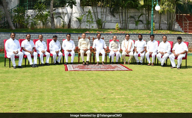 File Case Against KCR For Not Having Women In Cabinet, Says BJP Leader