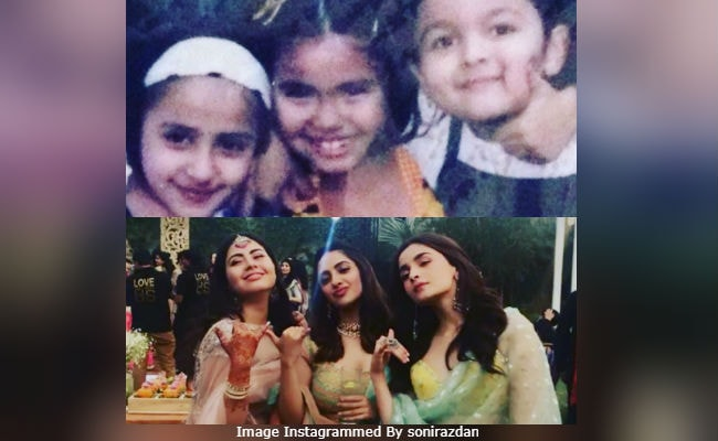 Alia Bhatt gives an emotional speech at her bestie's wedding