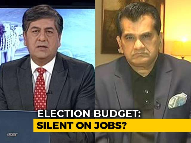 "Video : ""It Will Provide Liquidity To Farmers"": NITI Aayog Chief On Budget Announcement"