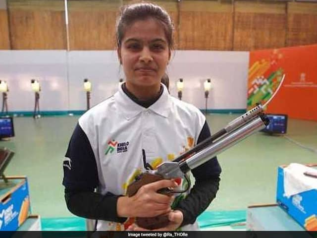 ISSF World Cup 2019: Anish Bhanwala Finishes 5th; Manu Bhaker, Heena Sidhu Disappoint