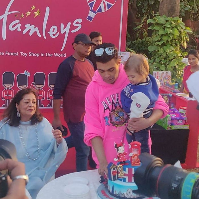 Taimur, Misha and Varun Dhawan Party With KJo's Twins Yash & Roohi