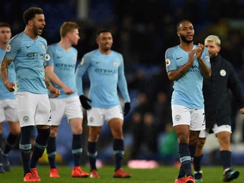Premier League: Manchester City Sink Everton To Knock Liverpool Off The Top