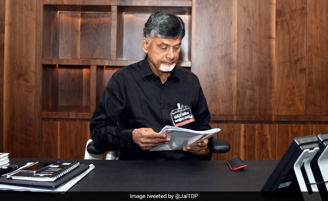 'Andhra Not Part Of Nation?' Chandrababu Naidu Talks Of Budget 'Betrayal'