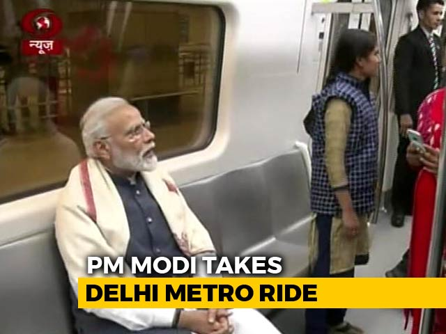 Video : Hours After Strike on Jaish, Rally, Metro Ride As PM Modi Keeps Busy Sked