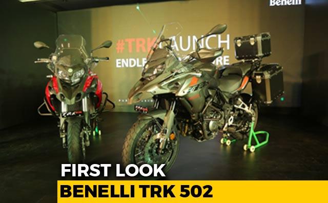 Benelli TRK 502 First Look