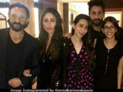 Kapoors In Black: Kareena, Saif Ali Khan, Karisma And Daughter Samiera Make Randhir Kapoor's Birthday A Night To Remember