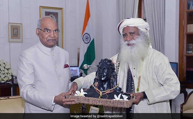President Kovind To Attend Maha Shivaratri Celebrations With Sadhguru