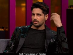 <i>Koffee With Karan 6</i> - Sidharth Malhotra On Break-Up With Alia Bhatt: 'There Were Lots Of Ups And Downs'