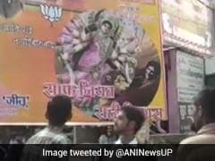 Priyanka Gandhi Vadra Shown As Demon Mahishasura In Poster In UP Town
