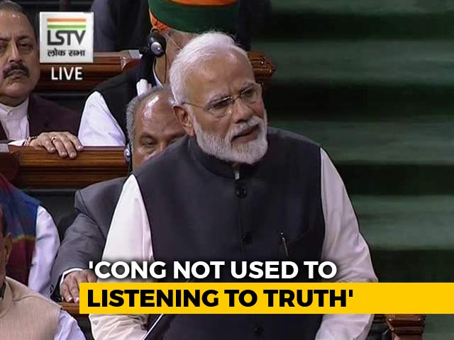 """Video : """"Thief Is Scolding <i>Chowkidaar</i>"""": PM Modi's Strong Attack On Congress"""