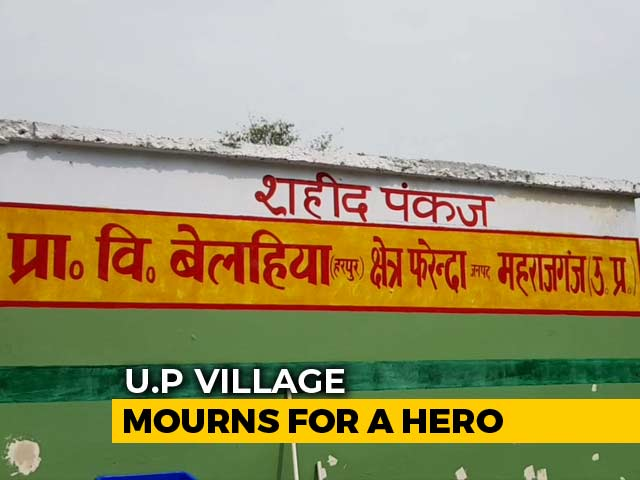 Video : After Pulwama Soldier's Death, His Village In UP Finally Sees <i>Vikas</i>