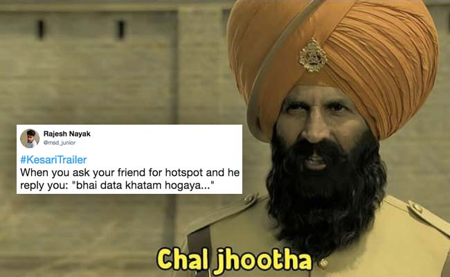 This Scene From Kesari Trailer Has Become A Hilarious Meme. Take A Look