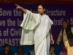 Mamata Banerjee In Delhi For Opposition's Big Show Of Strength Today