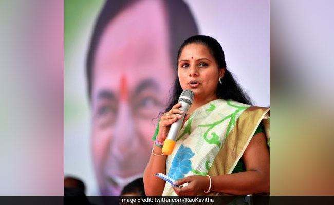 KCR's Daughter K Kavitha To Seek Re-Election From Nizamabad Seat