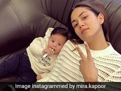 Mira Rajput And Son Zain Kapoor In A 'Limited Edition' Pic