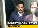 Video : On Day 2, Robert Vadra Grilled On A London Property, Then Lunch Break