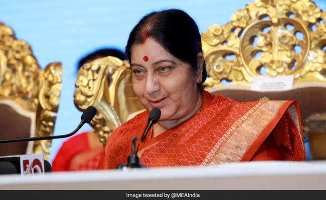 Sushma Swaraj Leaves For Trilateral Meet In China Amid India-Pakistan Tension
