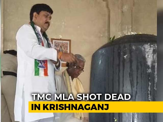 Video : Trinamool Leader Shot Dead At Point-Blank Range During Function In Bengal