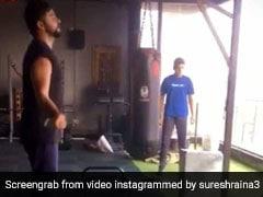 Suresh Raina ने बना ली ऐसी बॉडी, आईपीएल से पहले कर रहे हैं ऐसा, देखें VIDEO