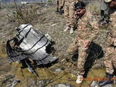 Wreckage Of Downed Pak F-16 Fighter Seen In PoK