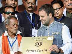 Will Not Take Land From Farmers Without Consent, Says Rahul Gandhi