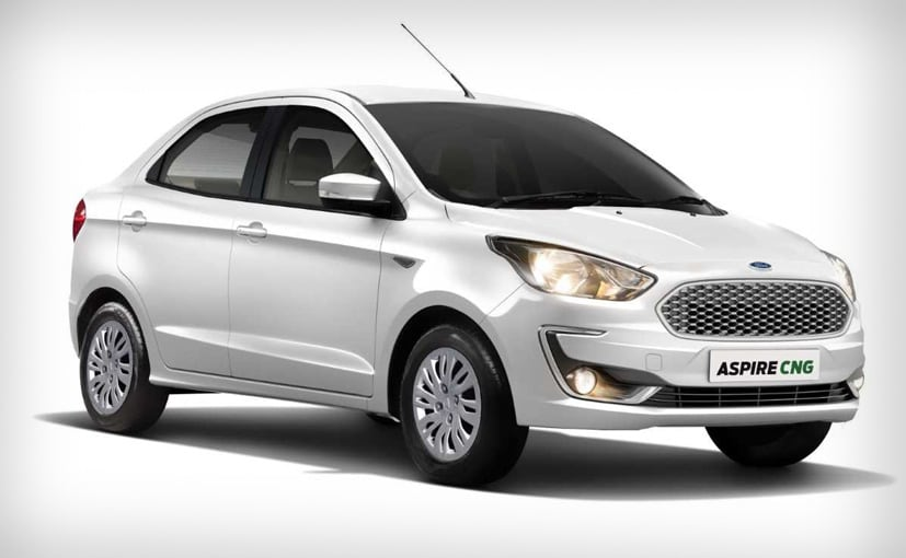 The Ford Aspire gets a suspension type cylinder which makes for a better boot cargo space.