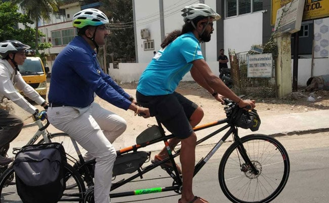 This Indian Is Cycling From Chennai To Germany To Help Trafficked Victims-5651