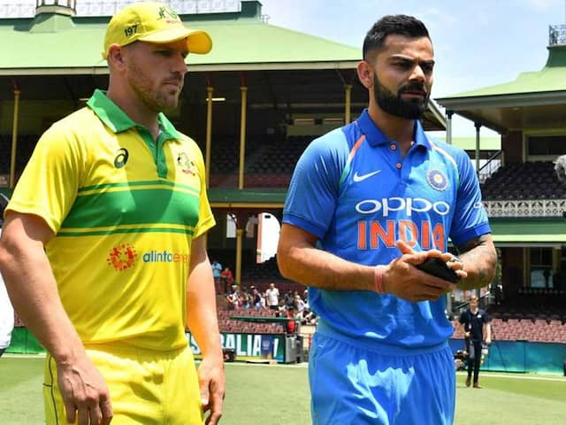 """""""India Best In Own Conditions"""": Aaron Finch Cautious Ahead Of Limited-Over Series"""