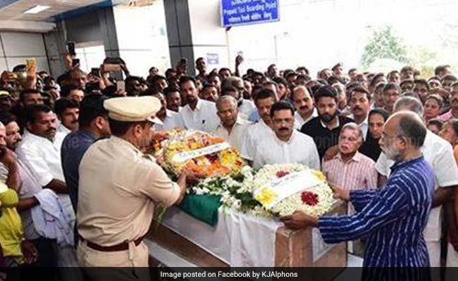 Pulwama Attack: वीवी वसंत कुमार ने पत्नी को भेजी थीं कोहरे की तस्वीरें, कहा- पहुंचने में थोड़ी देर और लगेगी, लेकिन...