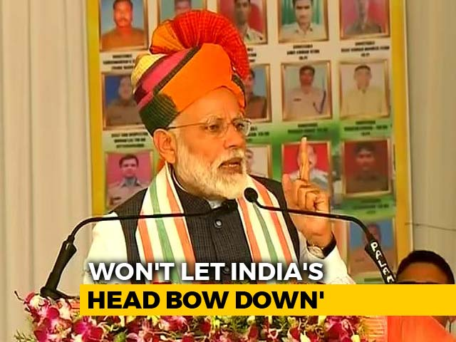 "Video : PM Says ""Country In Safe Hands"" Hours After India Strikes Jaish Camp"