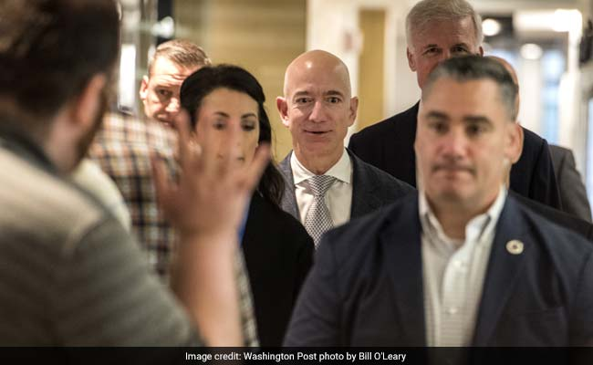 Jeff Bezos Accuses Tabloid Of 'Extortion' Over 'Intimate Texts'