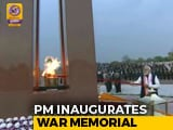 Video : PM Narendra Modi Inaugurates National War Memorial In Delhi