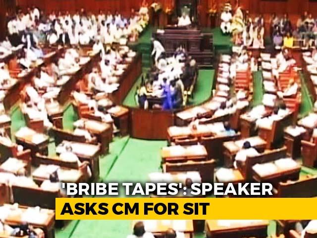Video : Karnataka Speaker Wants 'Bribery' Audio, Aired By HD Kumaraswamy, Probed