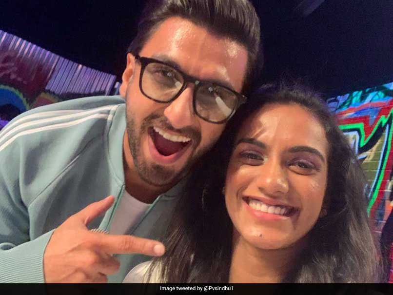 """Keep Rocking"": PV Sindhu Posts Picture With ""Gully Boy"" Ranveer Singh"