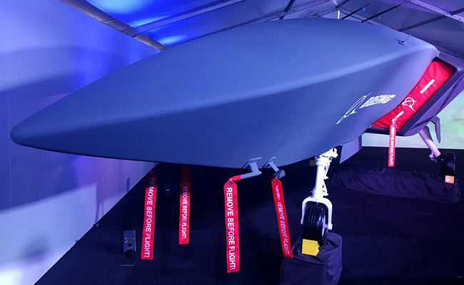 Boeing Unveils Unmanned Combat Jet That Can Fly Alongside Crewed Aircraft