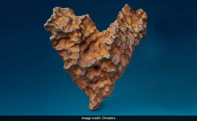 Heart-Shaped Meteorite To Be Auctioned In Time For Valentine's Day