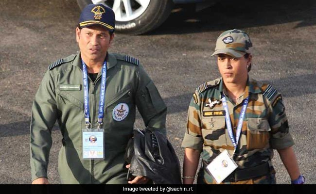 See Sachin Tendulkar's 'Top Gun' Photo From Air Force Show In Pokhran