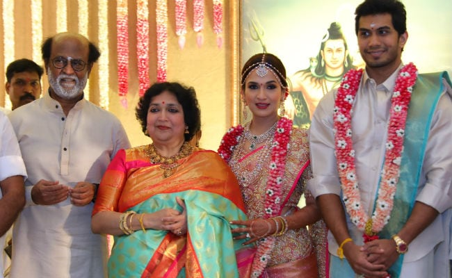 Inside Soundarya Rajinikanth And Vishagan Vanangamudi's Wedding. See Pics