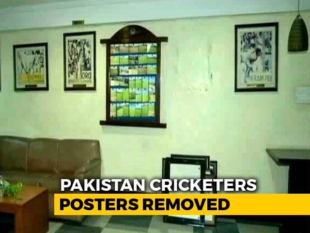 Photographs Of Pakistani Cricketers Removed From Mohali Stadium