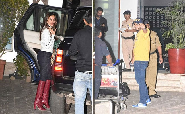Alia Bhatt-Ranbir Kapoor And Malaika Arora-Arjun Kapoor Fly Out Of Mumbai For Akash Ambani's Pre-Wedding Party